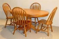 We paid $2500 for this dining room or kitchen table