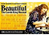 Beautiful The Carole King Musical In London. Includng Travel