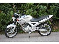 Honda CBF 250. Immaculate example! 4,293 miles.