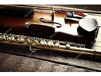 A FANTASTIC OPPORTUNTY FOR INDIVIDUALS LEARNING TO PLAY THE VIOLIN OR FLUTE-PLEASE READ ON: