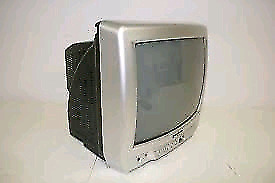 """Insignia 13"""" analog CRT TV television works perfectly in good c"""