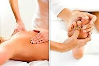 massage thérapeutique suédois - 40$/h
