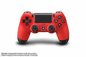 RED AND BLACK PS4 CONTROLLER