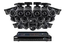 4K Ultra HD IP NVR System with 32-channel NVR, 10 4K IP Dome