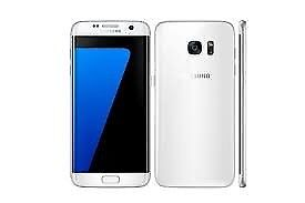 SAMSUNG GALAXY S7 PEARL WHITE (UNLOCKED,GOOD CONDITION)