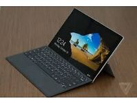 Almost New Microsoft Surface Pro 4 i5 128GB With Keyboard and pen