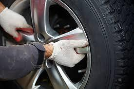 Tires Change,Tires Installation/Change over, Brand NEW Tires !