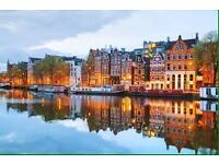 Tickets to Amsterdam for 2