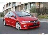 2011 civic type s parts breaking