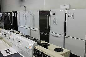 Open SATURDAY 10AM to 3PM   -  Used  APPLIANCE CLEAROUT SALE -  FRIDGES 12 to 18 Cu Ft -  9267 - 50 Street  Edmonton