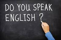 Tutor for English lessons for adults