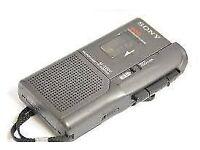 Sony M-529V Microcassette-Corder