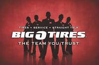 tire tech big o tires ladysmith