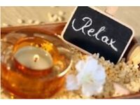 Calm Relaxing and de-stressing massage