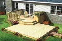 Decks, Renovations, garages, We Do It All, No job to small.