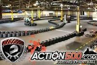Réceptionniste Action 500 Karting/Paintball