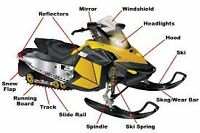 SNOWMOBILE PARTS & ACCESSORY SPECIAL