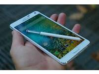 Samsung galaxy Note 4 32GB Brand new with warranty and accessories unlocked!
