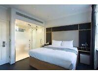 One night hotel in London 19-20 Dec