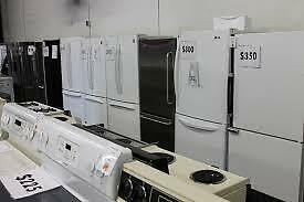 This TUESDAY 9AM to 5PM REFRIDERATOR SALE! - Fridges Starting at $249 to $390  Used Appliance SALE at 9267 - 50 Street