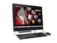 PROFESSIONALLY REFURBISHED PACKARD BELL ALL IN ONE PC TOUCHSCREEN 500GB HDD 3GB RAM 6 MONTH WARRANTY