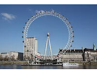 TODAY 1 nights Zone 1 London hotel and London Eye