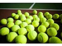 Wanted, tennis balls for charity