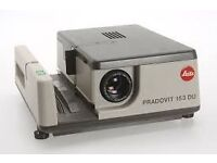 Pradovit 153 DU projector & carry case