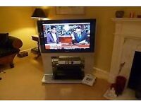 """Panasonic 37"""" TV sliver with stand (TH-37PE30 ,excellent condition)"""