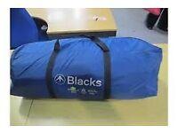 Blacks Lundy 4 man tent.