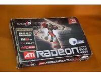 Brand New In Box ATi Radeon 9550 256MB DDR AGP