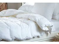 Barely used duvets, bed covers, pillows etc