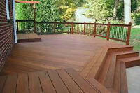 Booking free estimates fence and deck staining