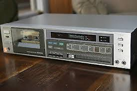 Vintage Sony Stereo Cassette Deck