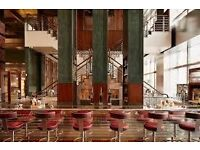 General Manager - Stunning Canary Wharf restaurant and bar - £40K plus generous bonus