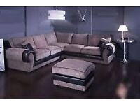 ❤❤REDUCED PRICE❤❤CHRISTMAS OFFER🔥BRAND NEW🔥TANGO FABRIC CORNER SOFAS🔥EXPRESS DELIVERY🔥2 COLORS