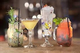 full time cocktail bartender job, Canary Warf London, immediate start, competitive pay, new opening