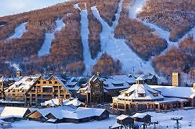 Stowe Mountain Resort - 5 nights for two with lift tickets.