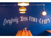 P/T Chef for independent, ethical Fish & Chip shop and Soul Food Cafe on Gloucester Road