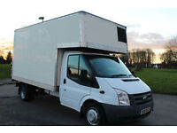 **A-Z MAN&VAN SERVICE** LOCAL/NATIONWIDE MOVES - FROM £15 - LARGE LUTON BOX VAN!
