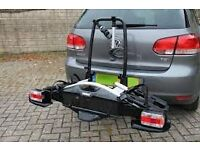 Velo Compact 925 4 bike towbar mounted carrier. Brought June 2015 and used once.