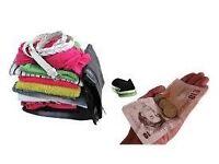 Cash for clothes llansamlet swansea up to 50p per kilo 132 samlet road SA79AF