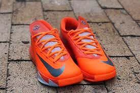 Nike Kd 6 orange basketball shoes