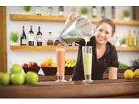 FULL-TIME AND PART-TIME SMOOTHIE STAFF NEEDED !!!