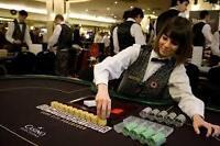female poker dealer for Friday night