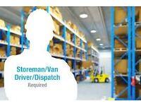 Van & Counter Sales Person