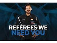 Referee needed Sunday evenings