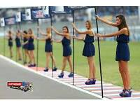 Motorsport/automotive promotional model and grid girl work wanted