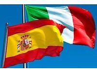 Tutor Spanish & Italian: Qualified teacher of modern foreign languages
