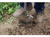 Free bagged soil